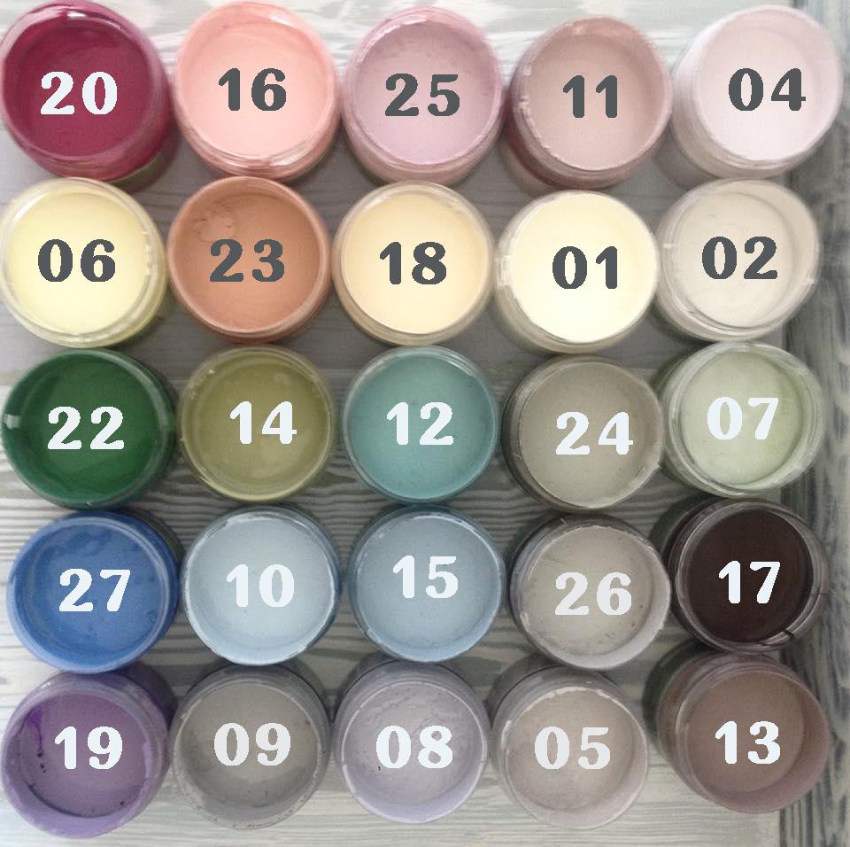 palitra палитра Вкусные краски Арт-нуво