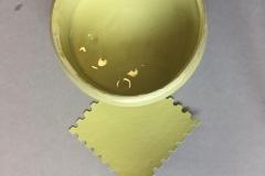 14 оливковый Вкусные краски Арт-нуво